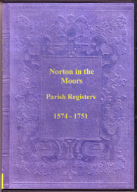 the parish registers of norton-in-the-moors, staffordshire.