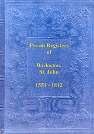 the parish registers of barlaston, in staffordshire.