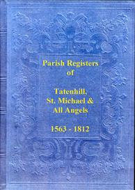 the parish registers of tatenhill, in staffordshire.