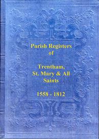 the parish registers of trentham, in staffordshire.