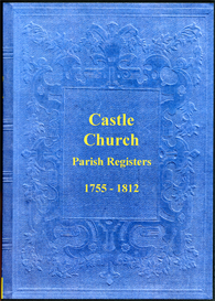 the parish registers of castle church in staffordshire.