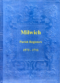 the parish registers of milwich in staffordshire.