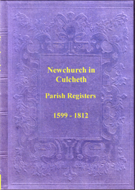 the parish registers of newchurch in the township of culcheth, in lancashire.