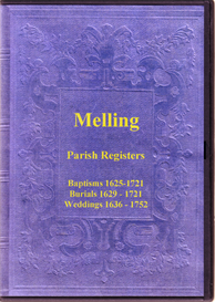 the parish registers of melling in the county of lancashire.