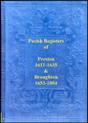 the parish registers of preston in lancashire.