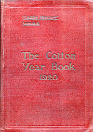 the cotton year book 1920.