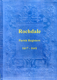 the parish registers of rochdale in lancashire.