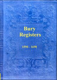 the parish registers of bury in lancashire.