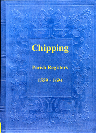 the parish registers of chipping in lancashire.