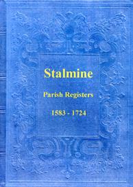 the parish registers of stalmine in lancashire.