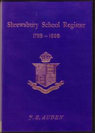 shrewsbury school register 1798 - 1898