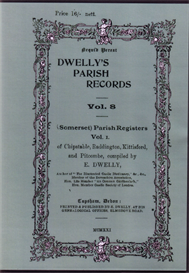 Dwelly's Parish Records Volume 8 | eBooks | Reference