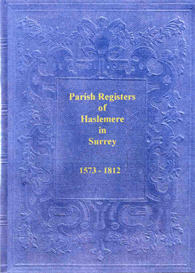 parish registers of haslemere in surrey
