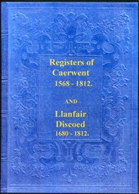 the parish registers of caerwent and llanfair discoed in monmouthshire, wales.